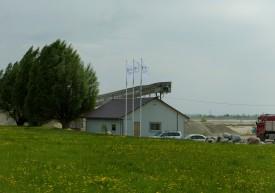 "JSC ""Skaistgirio skalda"" administrative facilities."